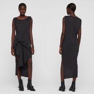 Allsaints riviera devo sleeveless maxi dress small